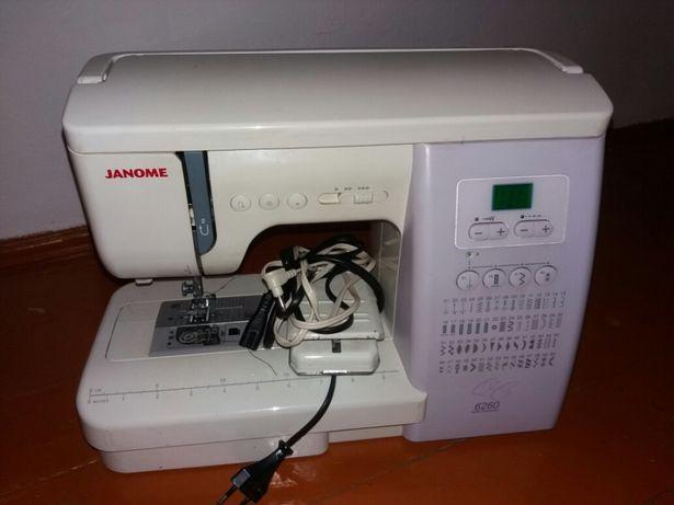 Швейная машинка Janome 6260