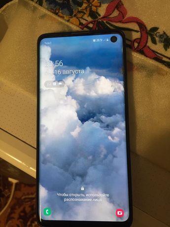 Samsung S10 коробка полный комплект в оригинали