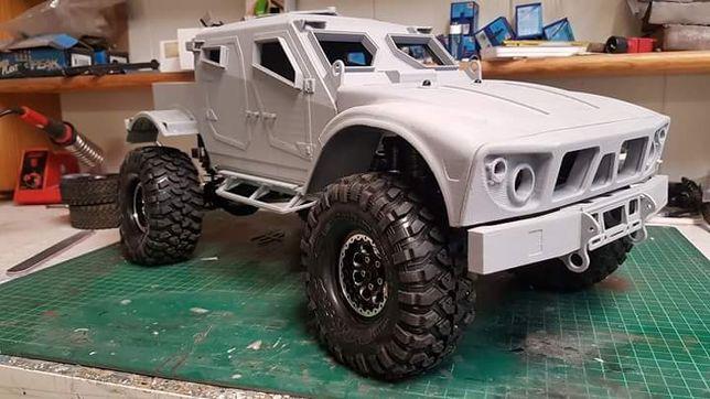 Automodel Proiect 3D caroserie 1/10 printabil
