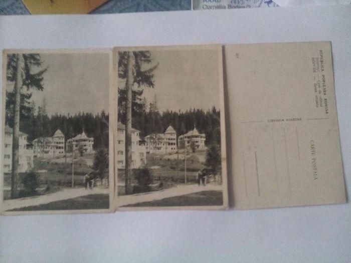 Carti posale vechi- Loc.Borsec-Case de odihna Craiova - imagine 1