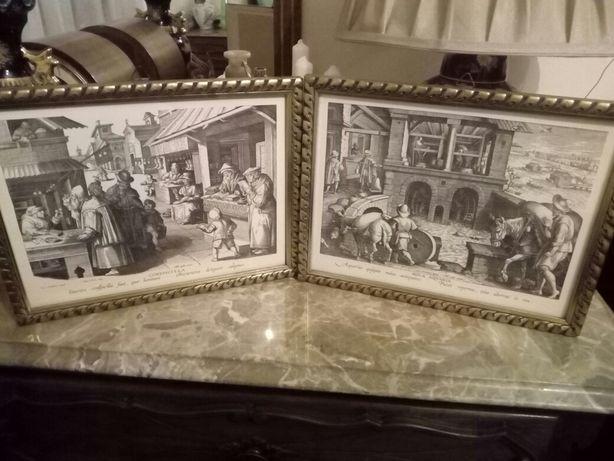 Tablouri vechi cu imagini din antichitate din colectia NOVA REPERTA