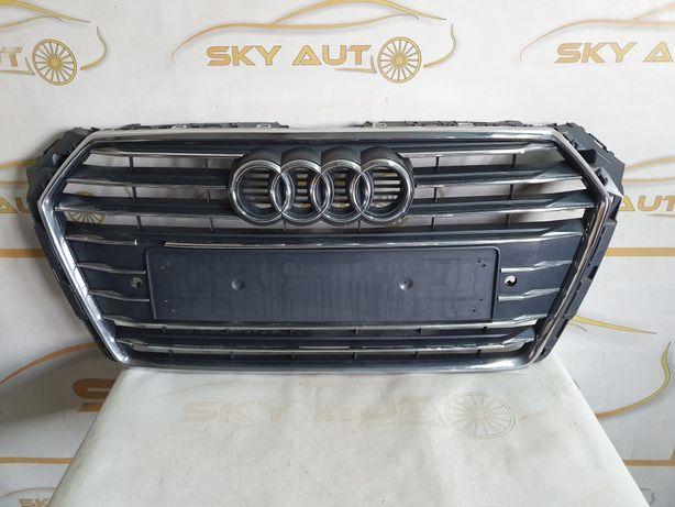 Grila radiator Audi A4 B9 S Line dupa 2016 cod 8W0853651AB