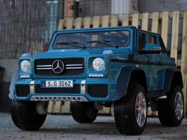 Masinuta electrica pentru 2 copii Mercedes G650 MAYBACH 4WD cu Mp4