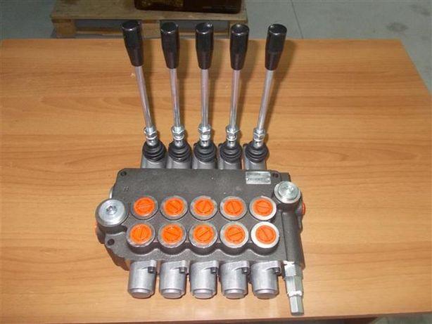 Distribuitor hidraulic agricol 5 manete debit 80 litri