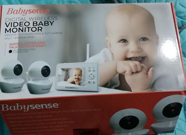 Monitor cu 2 camere wifi pt bebe