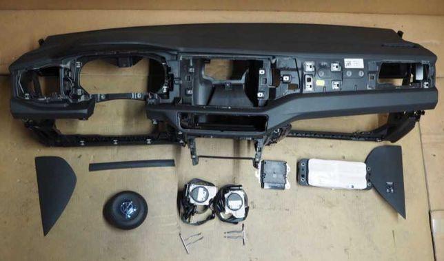 volskwagen polo 6 VI 2g kit airbag volan pasager plansa bord centuri