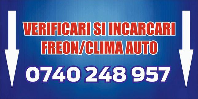 incarcari clima/freon ac. auto, aer conditionat 1234YFsi 134a