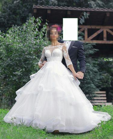 Rochie de mireasa printesa, marimea S