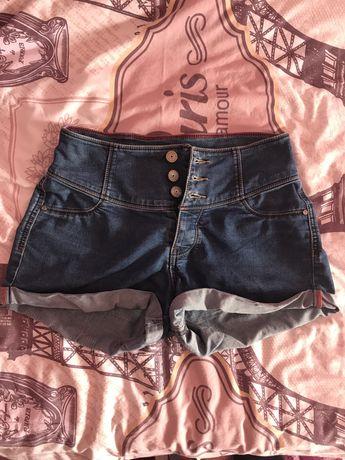 Дънкени къси панталонки