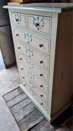 Comoda stil vintage handemade din lemn