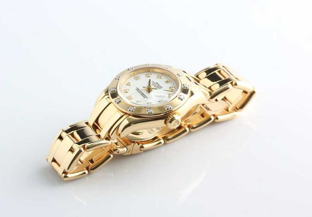 Шикарные Женские Часы Наручные Rolex Date just Pearlmaster