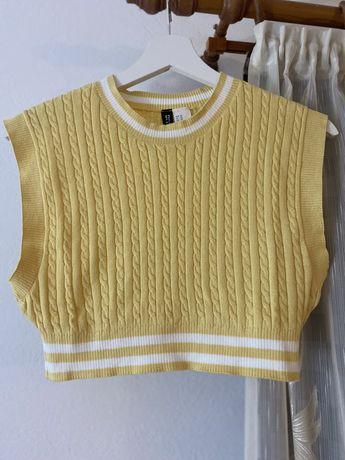 Vesta tricotata galbena