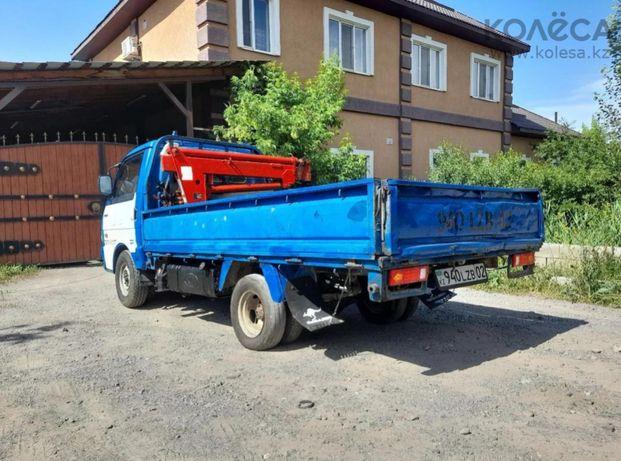 Манипулятор грузовик KIA и манипуляторная установка 1 тонна
