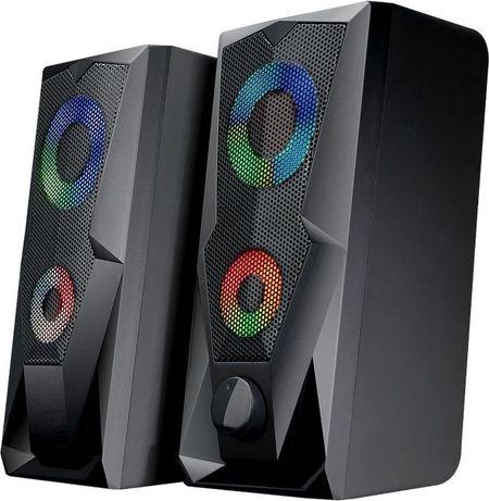 Геймърски тонколони battletron gaming speakers - 7color changing