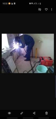 Сварщик услуги сварщика сварочные работы сантехник выезд отопление