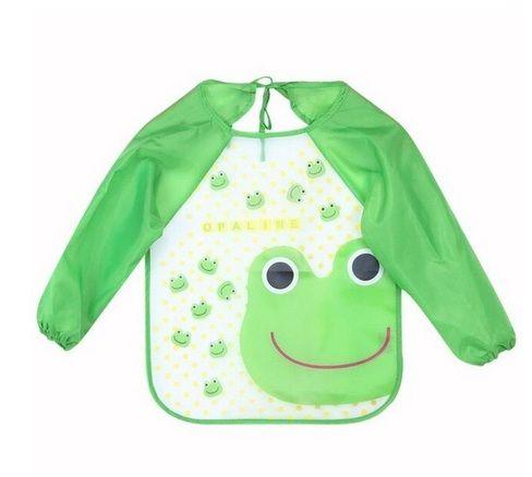 Лигавник- блузка в розово и зелено