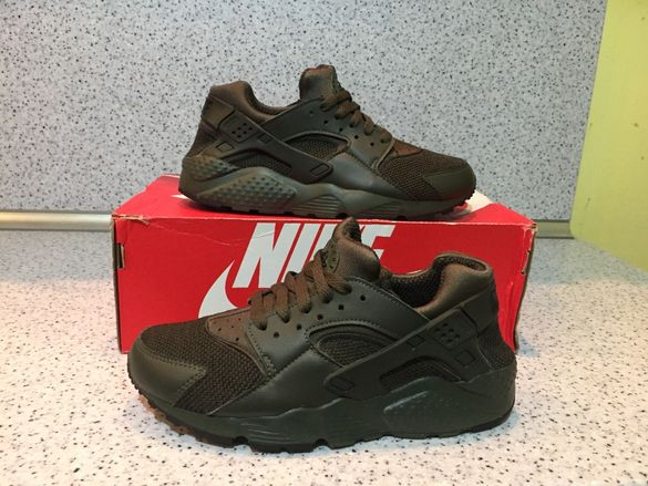 НОВО *** Оригинални Nike Air Max Huarache Run >< Khaki Edition