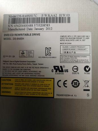 Uitate Optica DVD-RW DS-8A8SH neagra laptop
