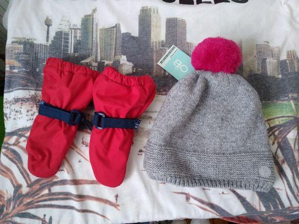 Okaidi шапка и ръкавици