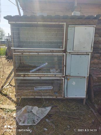 Продам клетку для кроликом
