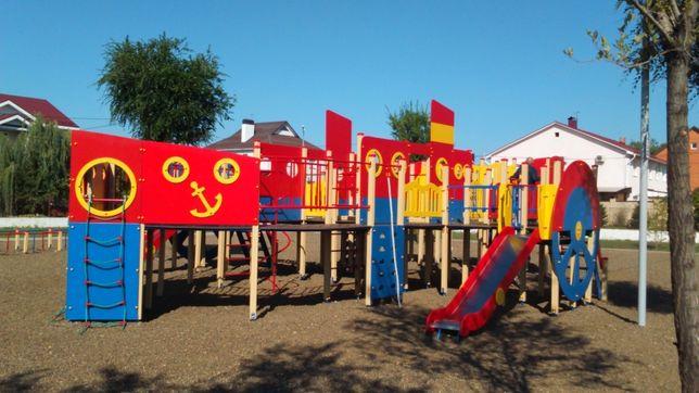 Детская Игровая Площадка, Комплекс Петропавл(горка, песочница, качели)