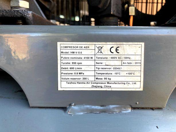 Compresor-Aer STAGER HM-V-0.6/200