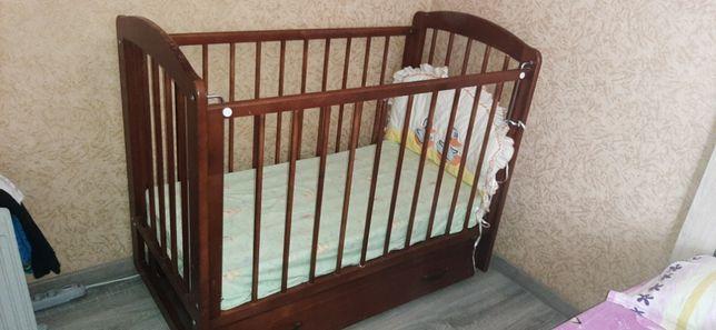 Детская кровать манежка