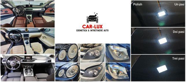 Curatare tapiterie auto profesional - polish auto profesional