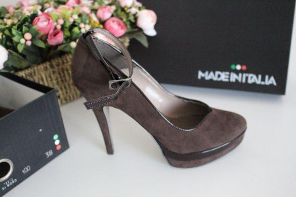 Дамски обувки на Made In Italia - естествен велур - размер - 37 и 38
