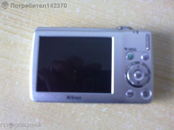 Nikon Coolpix S225 10 megapixels за части