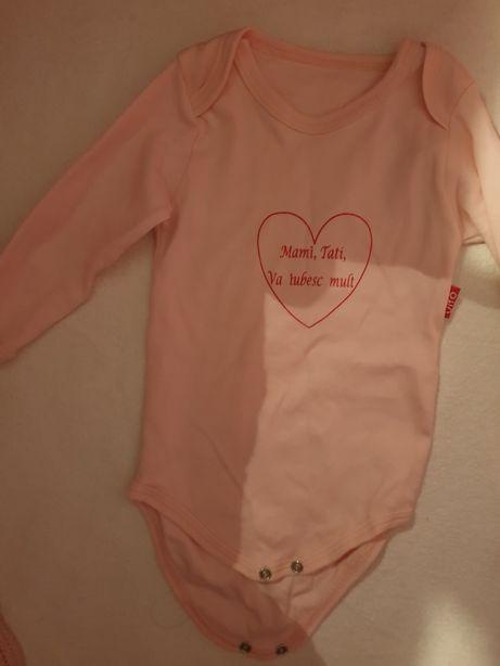 Body nou, cu eticheta mami tati va iubesc bebe bebelusa haine jucarii