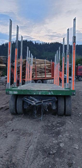 Remorca transport forestier lemn busteni Falticeni - imagine 1