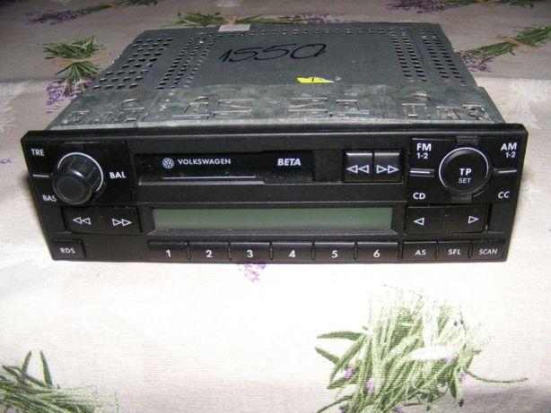 Radiocasetofon Volkswagen model BETA si Skoda MusicSistem 202