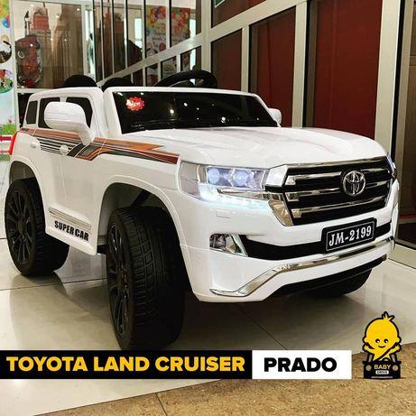 Акция! Детские Электромобили Toyota Land Cruiser Prado
