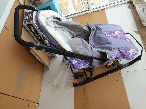 Продам санки-коляску Galaxy Snow Luxe