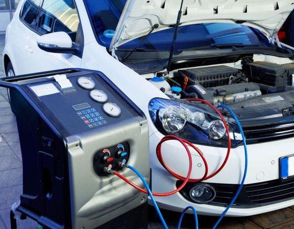 Зареждане с фреон и ремонт на автоклиматици / r134a