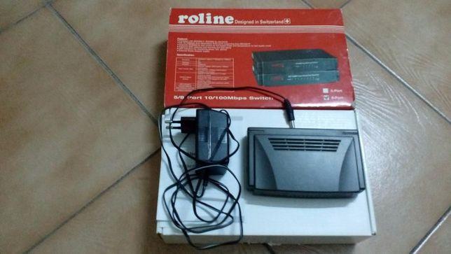 Switch ROLINE RS-108D 8 porturi 10/100 mbps