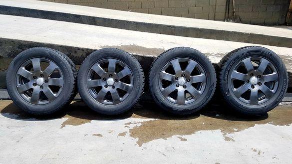 Оригинални алуминиеви джанти със зимни гуми за AudiQ7 и VwTouareg18цол