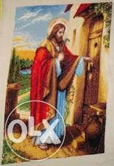 """Гоблен """"Исус чука на вратата"""""""
