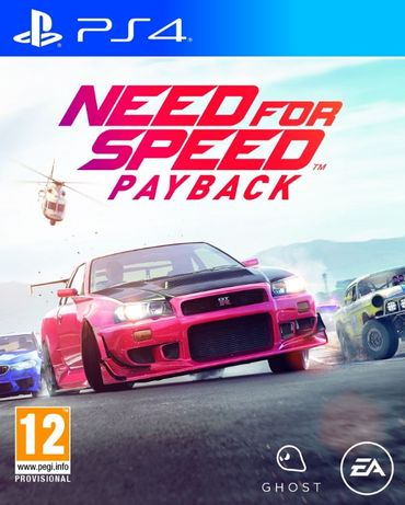 Need for Speed Payback / PS4 / Игра / ЗАПЕЧАТАНА / Playstation4 / TV