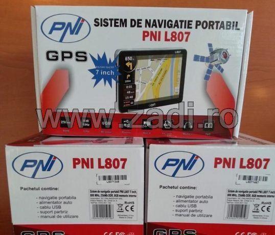 Gps PNI L807/L810 :800mhz, 256 ram, 8gb, 4 programe-camion