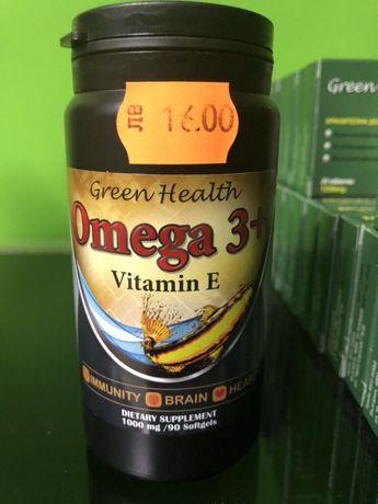 Омега-3+витамин Е 100% натурални