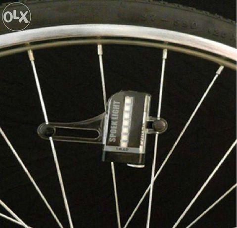 multicolor led pentru roata bicicleta