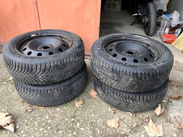 Зимни гуми Michelin с джанти 225/55/17