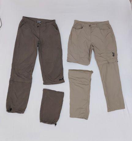 Pantaloni tehnici 2 în 1 Jack Wolfskin, outdoor pt. dame măsura L, XL