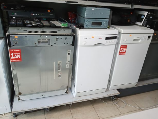 Masini de spalat vase import Germania Bosch-Siemens - Garantie 12 luni