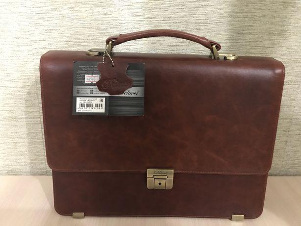 Продам кожанный портфель