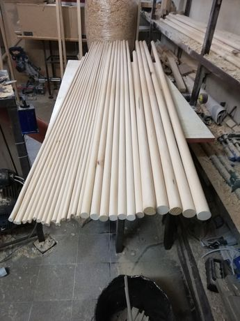 Дървени профили от липа