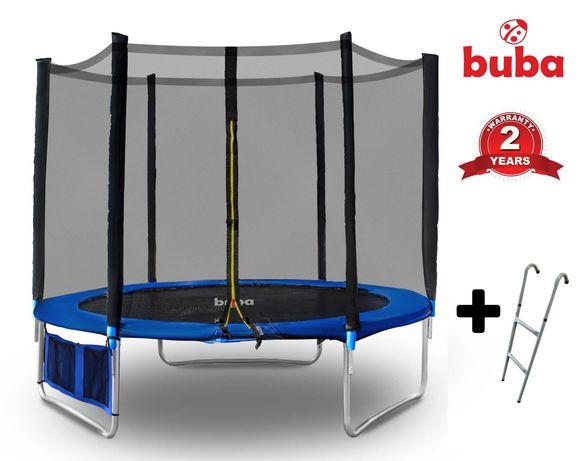 Buba детски батут / трамплин 8FT (252 см) с мрежа и стълба