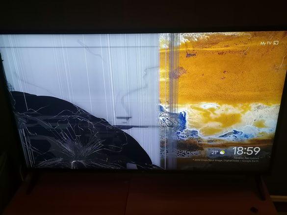 Телевизор LG 49UK62 49 инча за части приемам и бартер